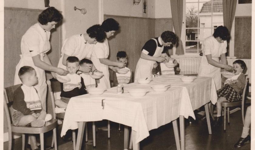 14 mei 1959 is de dag dat Severinus wordt opgericht. Dat moet natuurlijk gevierd worden! FOTO: Archief Severinus.
