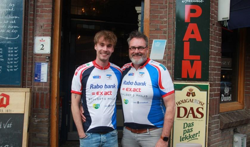 Coen en Koos Lucassen gaan voor de vijfde keer meedoen aan de Alped'Huzes