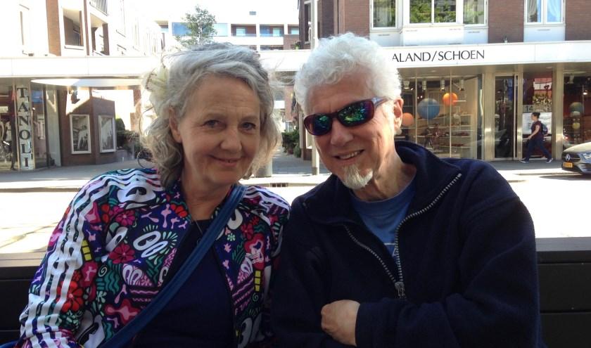 Marguerite Melchers en Robert van der Kroft van Comics, Art & Beer.