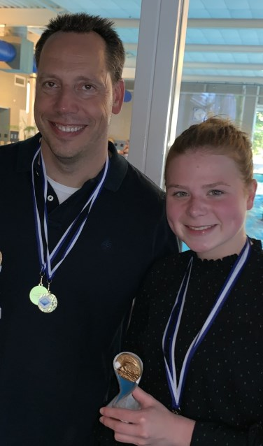 Clubkampioenen Perke en Sien. Foto: A. Schiebroek