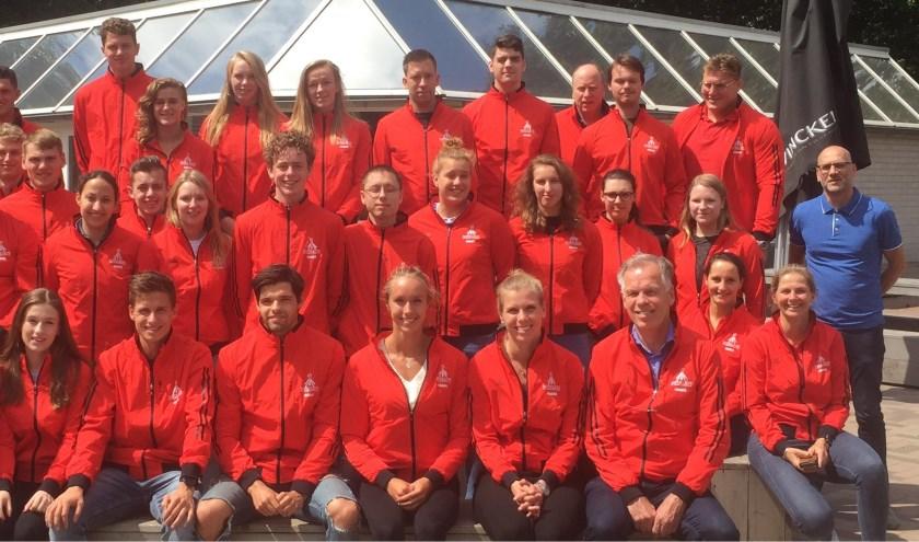 Een deel van de Nederlandse delegatie 2019.   FOTO: M. vd. Ven.