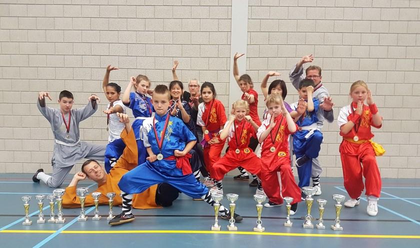 Shaolin Apeldoorn team op het NK 2019