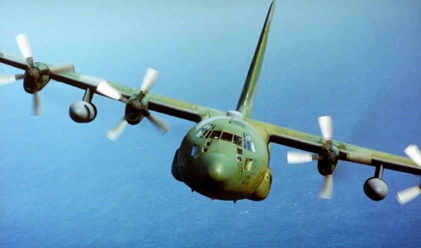 Van maandag 1 tot en met vrijdag 5 juli maakt 1 C130 Hercules 3 vluchten per dag in het kader van de oefening Orange Bull. FOTO: Wikipedia.
