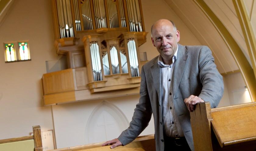 De reeks van in totaal negen concerten wordt geopend door Evert van de Veen. (Foto: Anton Dommerholt)