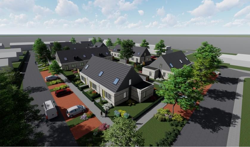 25 sociale huurwoningen komen op het terrein van voormalig zorgcentrum De Kersentuin in Maurik.