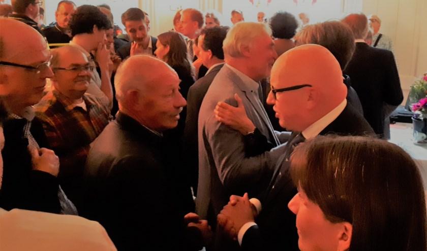 Vele genodigden en inwoners maakten 13 juni van de gelegenheid gebruik afscheid te nemen van burgemeester Hans Wagner