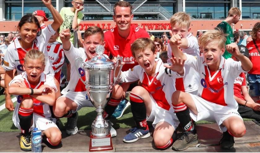 Tijdens de Open Dag van FC Twente wordt de derde editie gehouden van de 'Bernard van Heek Cup'.