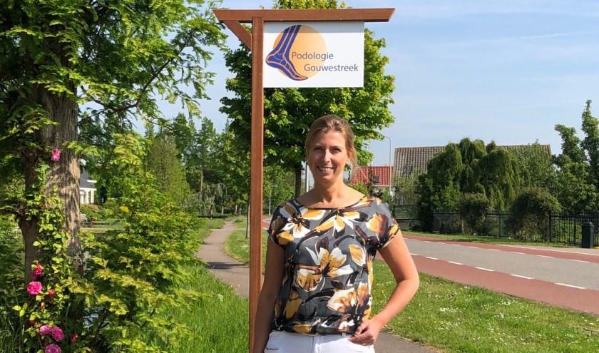 Registerpodoloog Miranda Vergeer-Den Hengst.