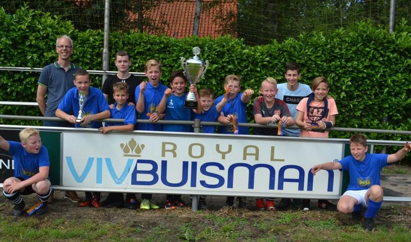 Loo School 5 kampioen groep 7-8 jongens