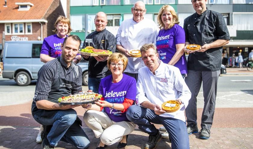 Lokale ondernemers sponsoren de SamenLoop voor Hoop De Bilt. Foto: Jeroen Jumelet