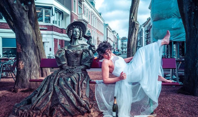 Voor het eerst in Nederland: de Leedvermaak- trilogie van Judith Herzberg  als marathonvoorstelling op het toneel.  (Foto: Gordon Meuleman)