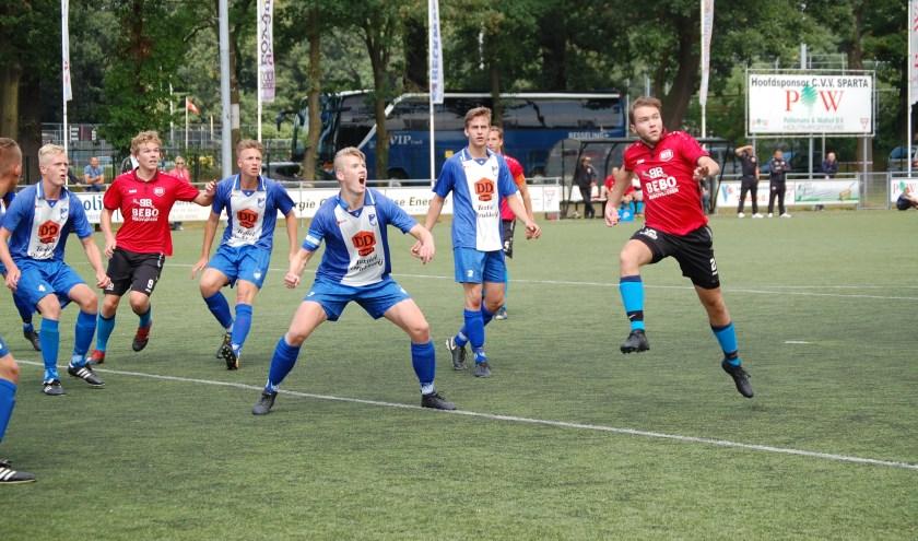 Sparta Enschede is zaterdag de gastheer van de finaledag van de Beltona Beloften Competitie.