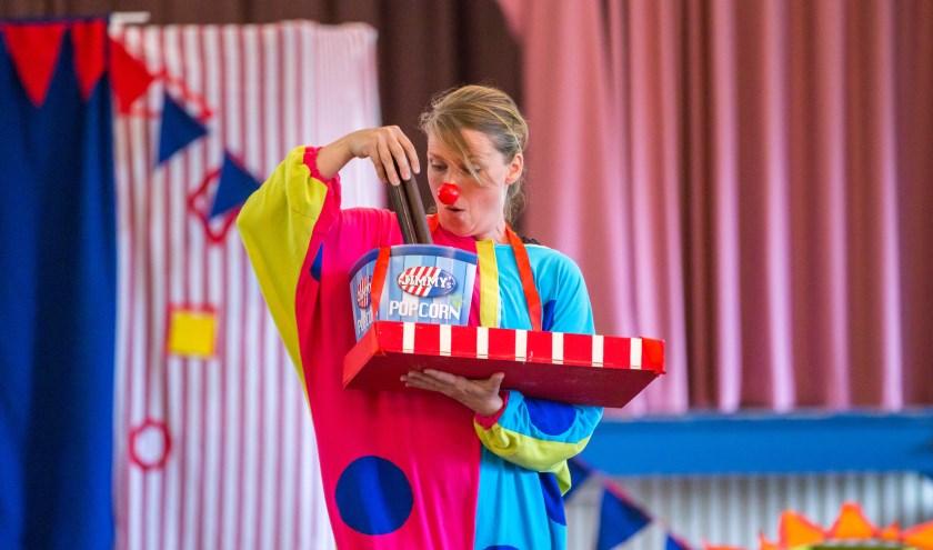 Clowntje Tiereliet (Melissa Kramer). (Foto Peter Verheijen)
