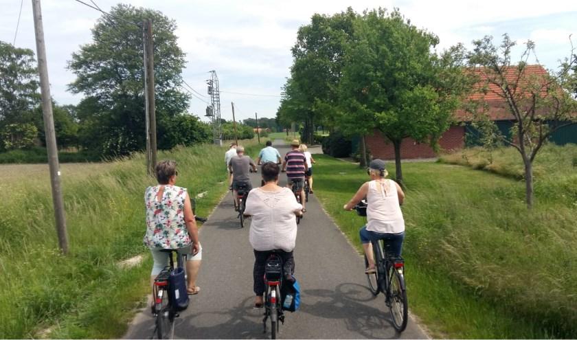 Ook voor de 'gewone' fietsers is er een mooie tocht uitgezet.