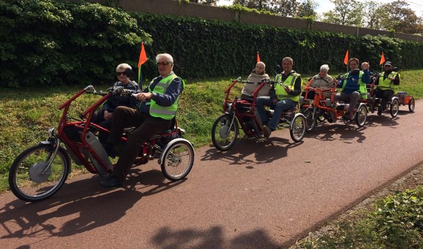 Stichting Duofietsen Helmond zoekt vrijwilligers die mee willen fietsen.