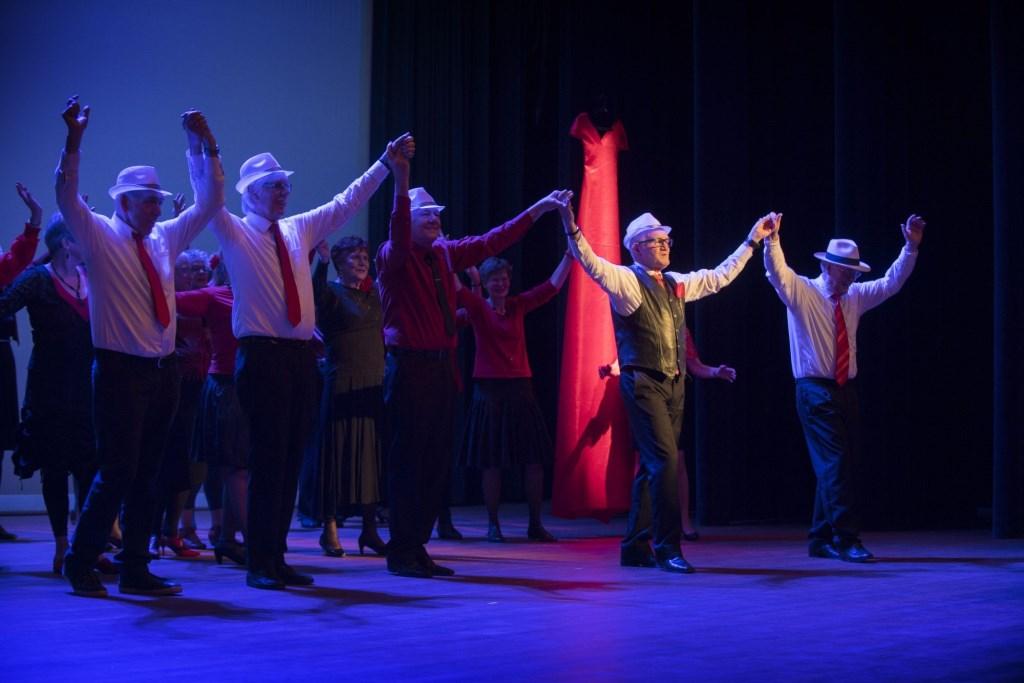 Nederland, Houten, 28-01-2018Dans in School organiseert in Houten Gouden Dans. Ontmoeting, dans en beweging voor senioren Foto: Hans Hordijk © DPG Media