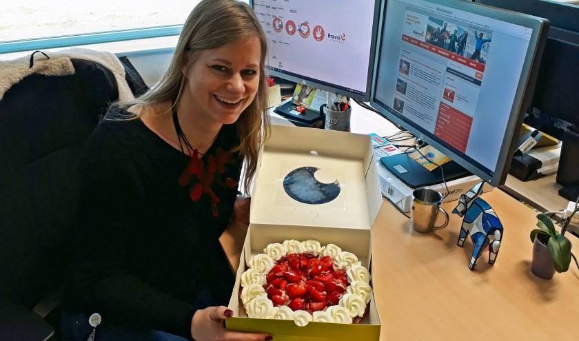 Ilona Huijbregts, ICT-verpleegkundige in het Bravis ziekenhuis, is trots op de gerealiseerde overdracht via XDS (Cross-enterprise Document Sharing).