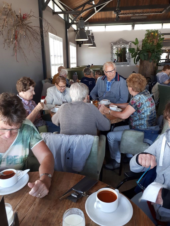 heerlijke lunch Foto: S van der Veek © DPG Media