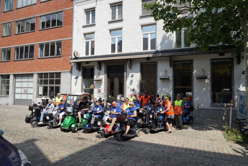 Uitleg bij het Brouwershuis Foto: P.v.d.Rovaart © DPG Media