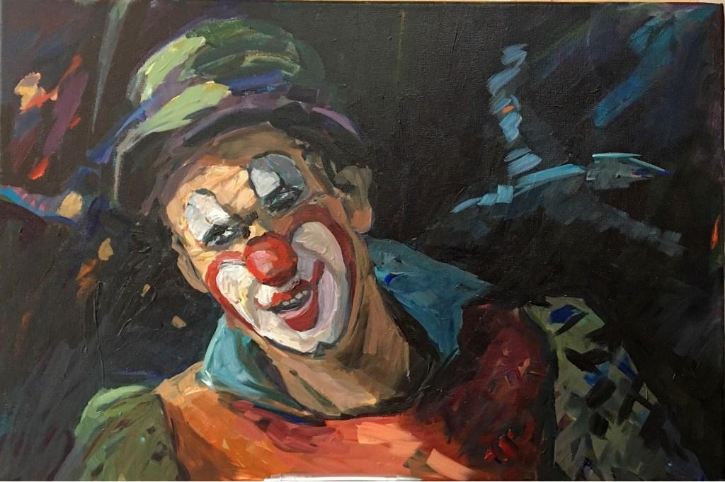 Schilderij van Aaltje van der Velde. Foto: Galerie Tolg'Art © DPG Media