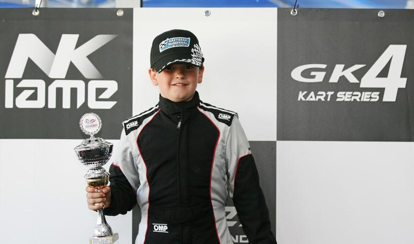 Zo'n goed raceweekend had de Oldenzaalse karter Mart Bult nog niet eerder.