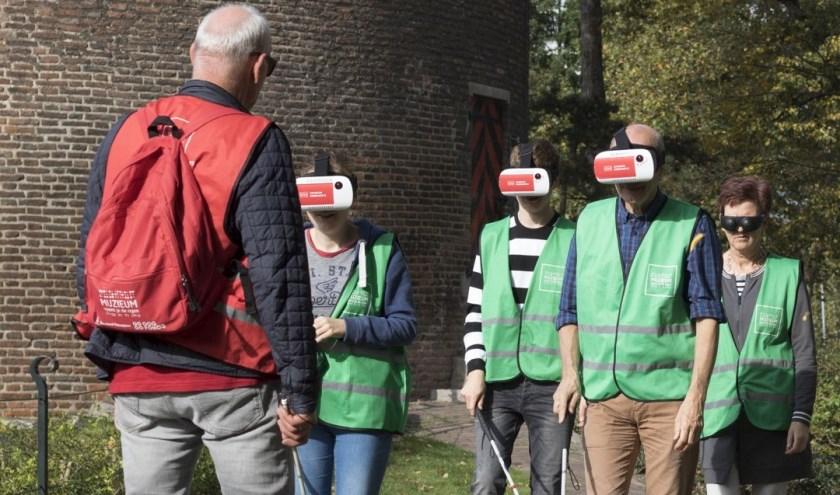Deelnemers aan Expeditie ribbelroute. (Foto muZIEum)