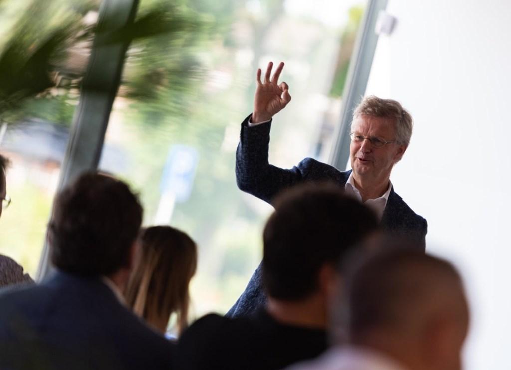 Ad van Dijk, directeur Technova College.  © DPG Media