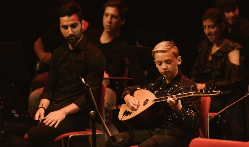 Het Concert Turkse Volksmuziek in 2018.  (foto:  Danny van der Weck)