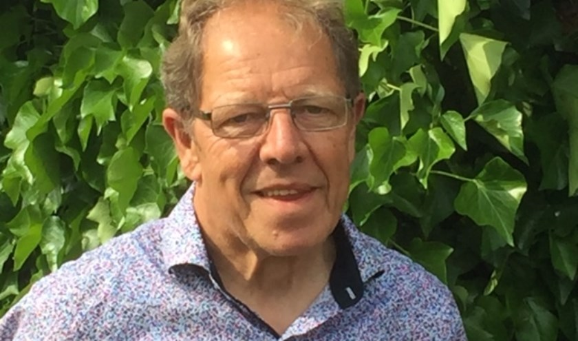 Albert Wonnink heeft geen tijd om mee te lopen, druk, druk als routecoördinator bij de Barchemse 4daagse