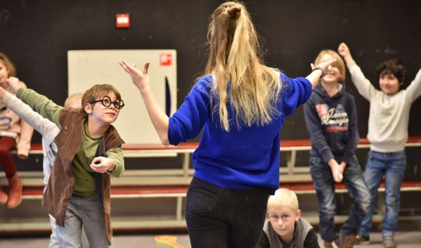 Theater-en musicallessen. FOTO: Ruben Jorksveld