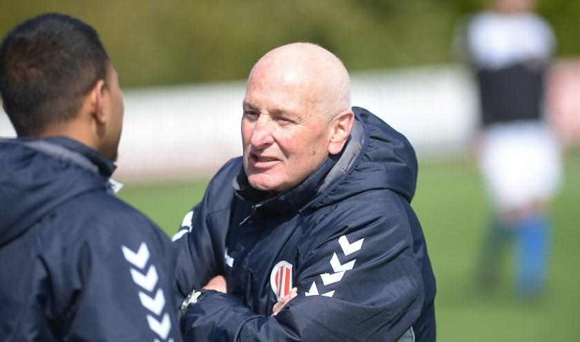 Arie den Otter: de 'Ferguson' van zijn geliefde club. Foto: John Wijntjes.