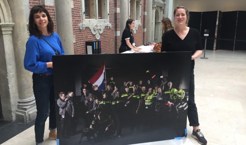 Tjarda van Vugt en Marleen Kuipers. (Foto: Privé)
