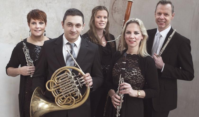 Het Amsterdam Wind Quintet.