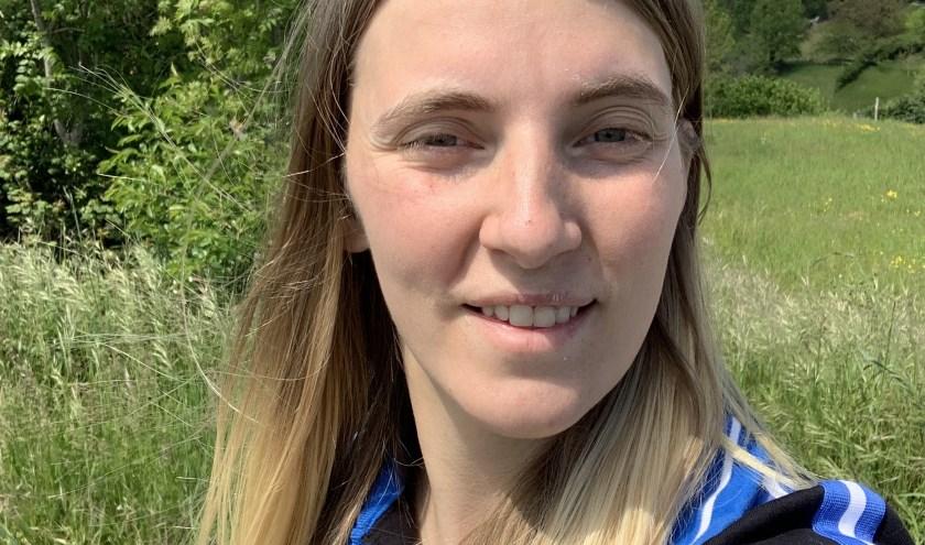 Ellen Boon (25) hoopt dat meer jongeren willen wandelen.