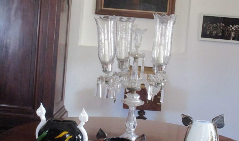 3 glasobjecten van Bikkel
