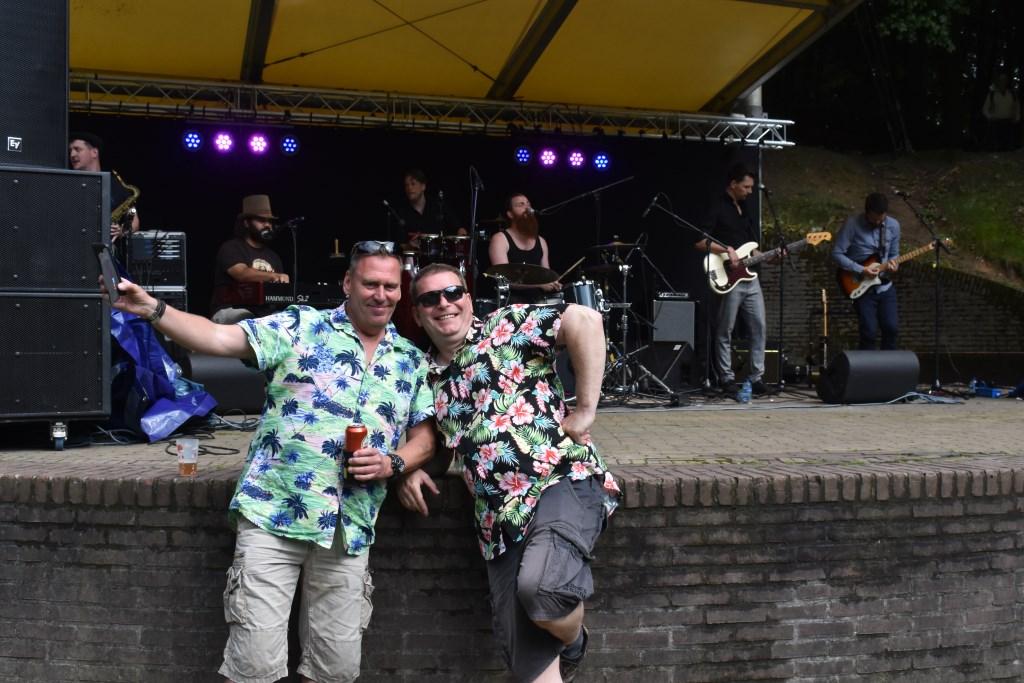 Vaste bezoekers voor het podium met Miller and the Tone Foto: Jan Verniers © DPG Media