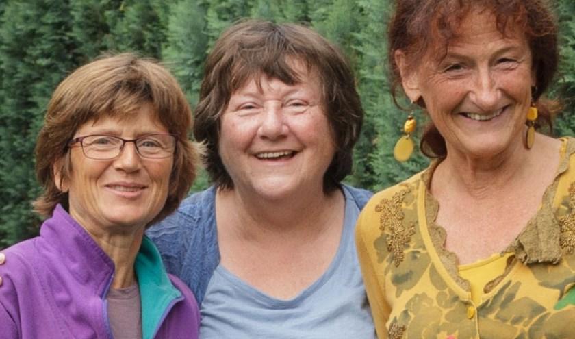 Lysbeth Beels, Ans Vermeulen en Jettie van den Houdt zijn samen met Diana Blanken de initiatiefneemsters. (Foto: JFH Snel)