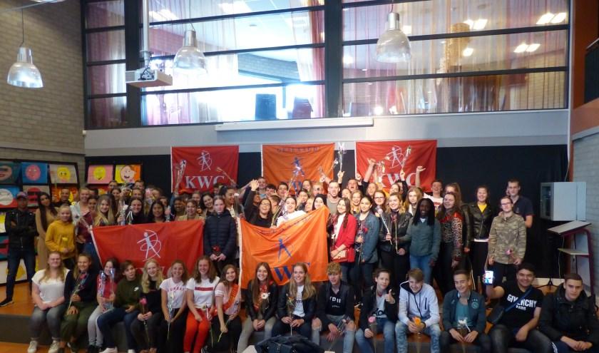 Het KWC is trots op haar geslaagde leerlingen.