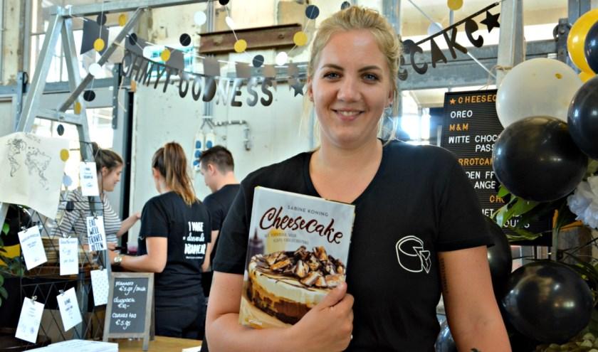 Sabine's beste cheesecake recepturen zijn vertaald naar een bakmix. (foto indebuurt.nl)