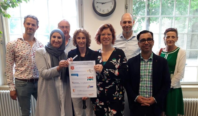 Diverse partijen gaan zich inzetten voor een schuldenvrij Utrecht. Foto: PR