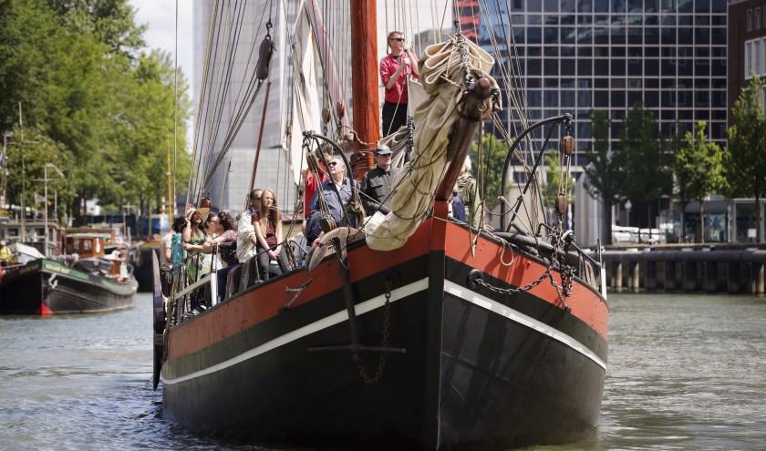 Op zondag 16 juni, Vaderdag, opent het Maritiem Museum Rotterdam feestelijk het vaarseizoen 2019. (Foto: Fred Ernst)