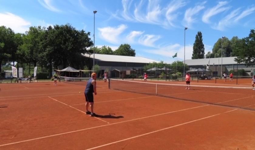 Op de banen van TOP worden regelmatig toernooien gespeeld. (foto: pr)