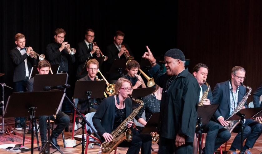 Een prominente rol tijdens Jazz Lab is weggelegd voor dirigent Charles Green.