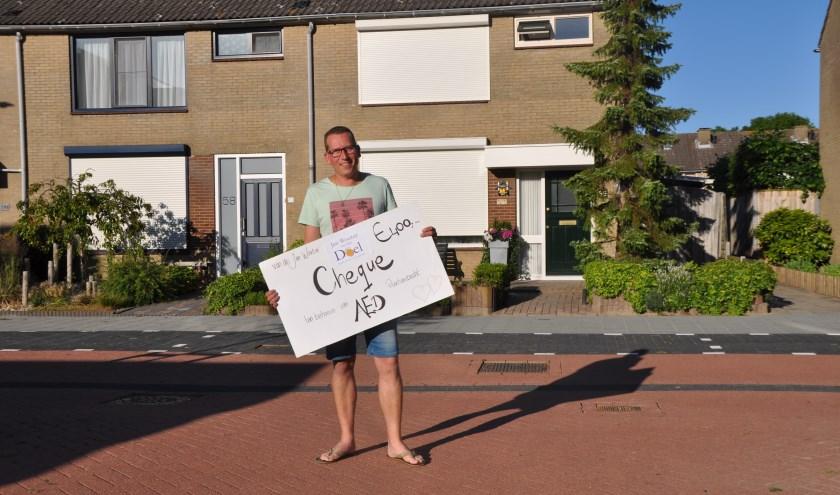 William van der Werf wil iedereen HARTelijk bedanken voor de inzet. FOTO: Anneke Flikweert