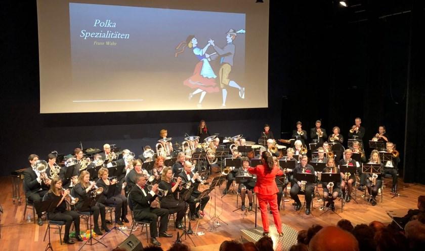 Het fanfarekorps Wilhelmina geeft een gratis toegangkelijk concert op het landgoed Vosbergen in Heerde.
