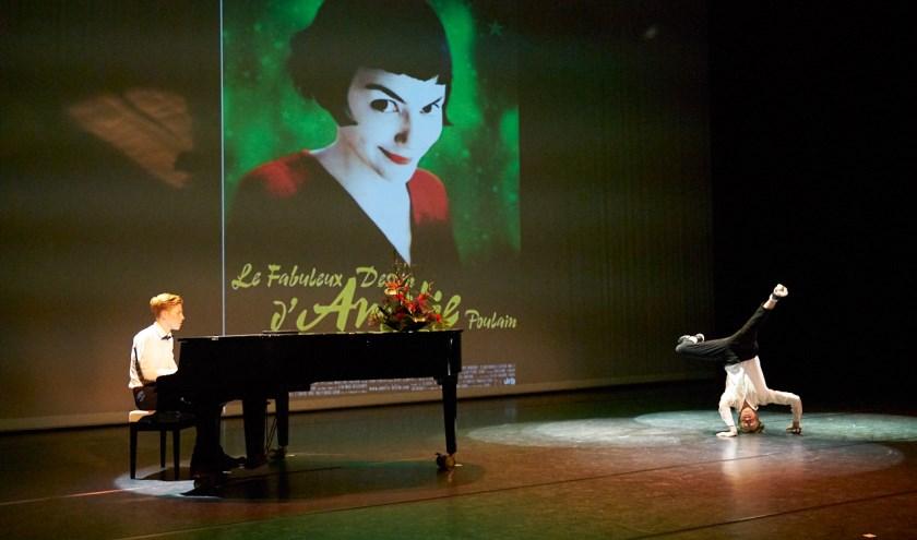 Theater Spektakel was volledig versierd met decorstukken uit de bioscoopwereld. (FOTO: Mary-Ann Struijk van Fotostudio POPpictures)