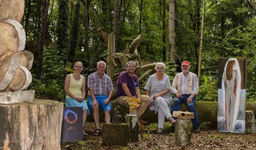 Veel nieuw werk is te zien bij Kunst Kijken Wintelre, een vijfjaarlijkse open atelierroute door het hele dorp. Foto: Ton van de Vorst