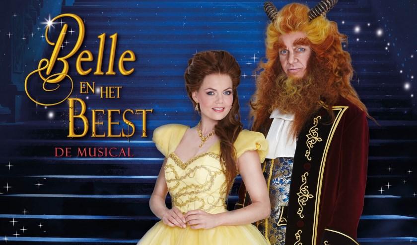 Belle en het Beest De Musical. (Foto: Nick van Ormondt)