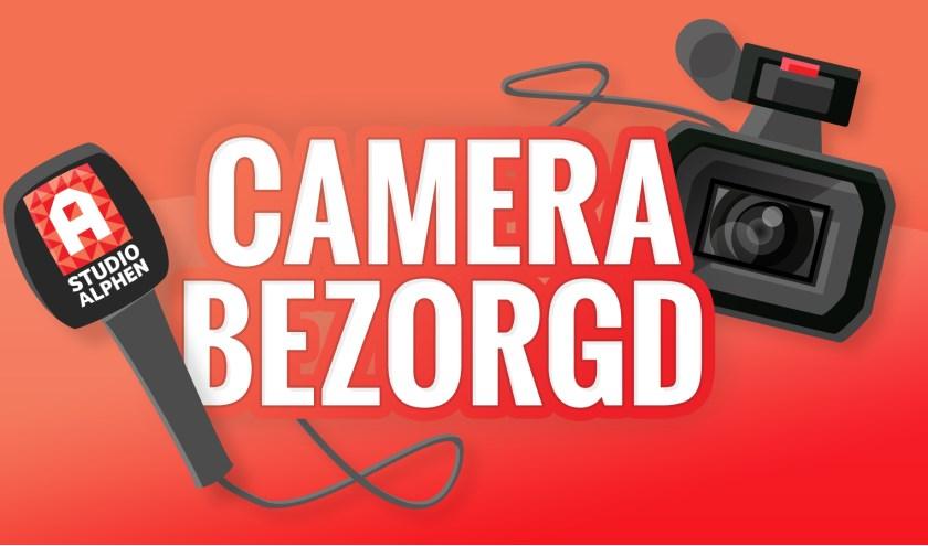 De camera wordt, inclusief verslaggever, bezorgd op locatie
