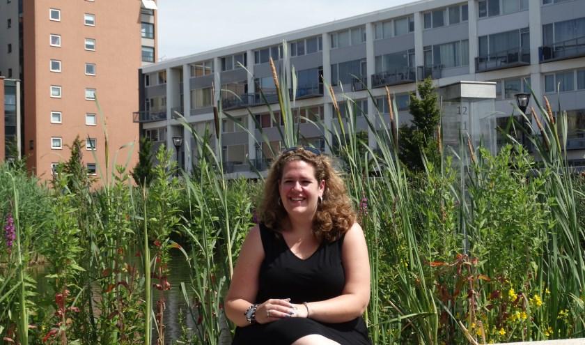 Sandra van Looi in haar geliefde Wielwijk. (Foto: Elisa Kuster)